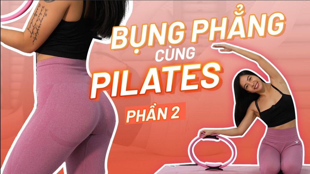 Bài tập Pilates với vòng   105 calories   Workout #178  Hana Giang Anh