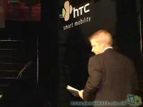 HTC Touch press conference part 3 of 3