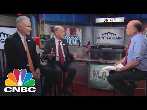 Saint-Gobain CEOs: The Global Economy Pulse   Mad Money   CNBC