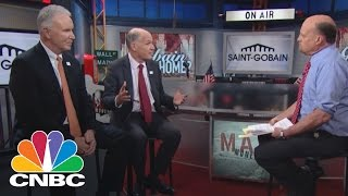Saint-Gobain CEOs: The Global Economy Pulse | Mad Money | CNBC