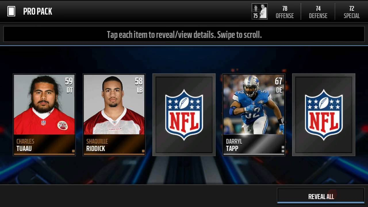 Madden mobile 16 can we clutch walter payton youtube - Walter payton madden 15 ...
