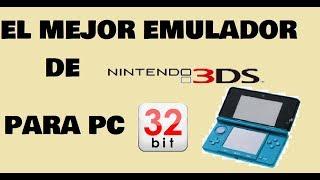 como jugar juegos de 3DS en PC 32 bits (x86) + configuracion + descarga