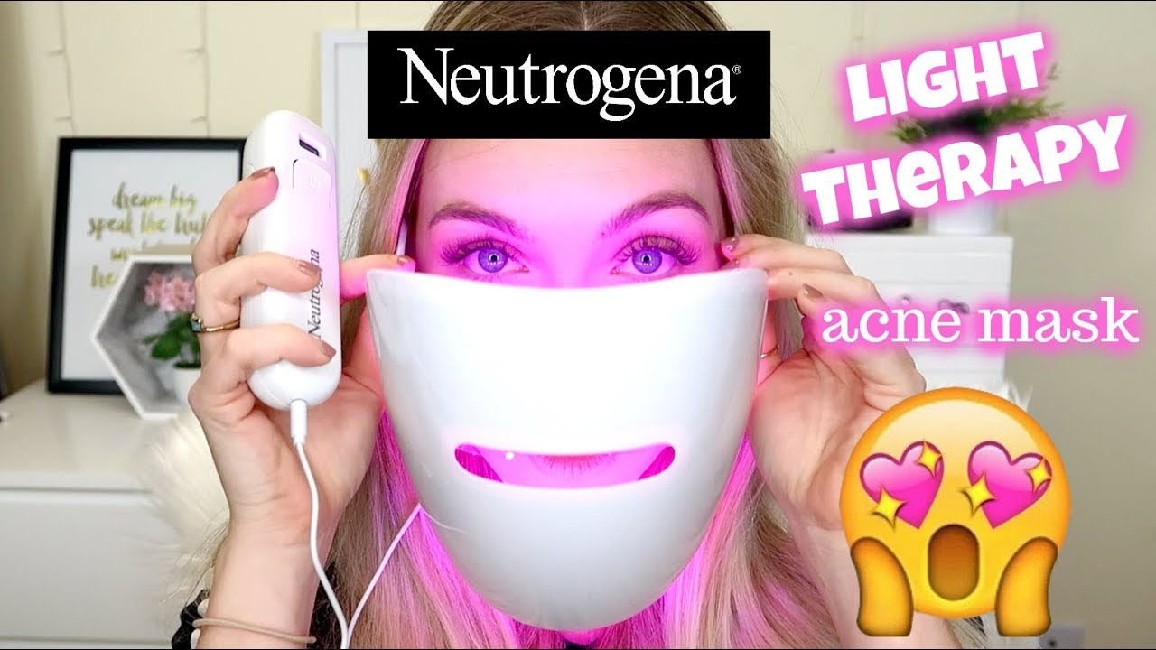 Review Neutrogena Light Therapy Acne Mask Worth It