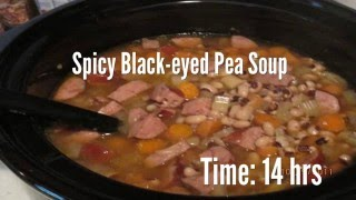 Spicy Black-eyed Pea Soup Recipe