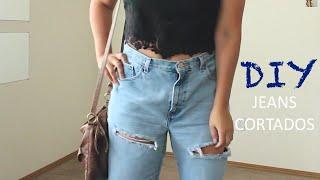 COMO RASGAR TUS JEANS ♡ DIY Thumbnail
