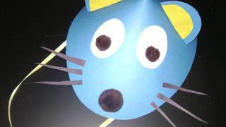 How to make a mouse hat with construction paper - EP
