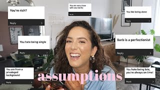 What people REALLY think about me??!! *ANSWERING YOUR ASSUMPTIONS*
