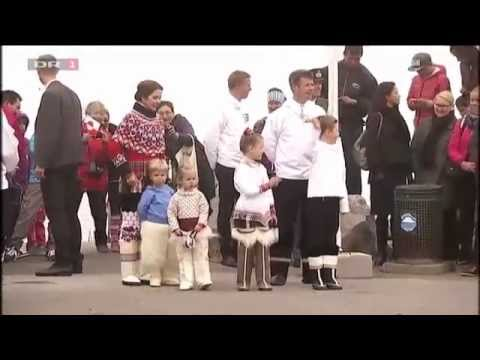 Danish Crownprince-Couple in Greenland 2014 -  Part 1