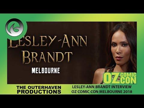 Oz Comic Con 2018: Lesley Ann Brandt