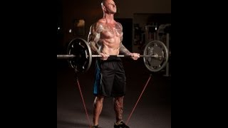 How to Add Exercise Bands to Free Weights by Jim Stoppani