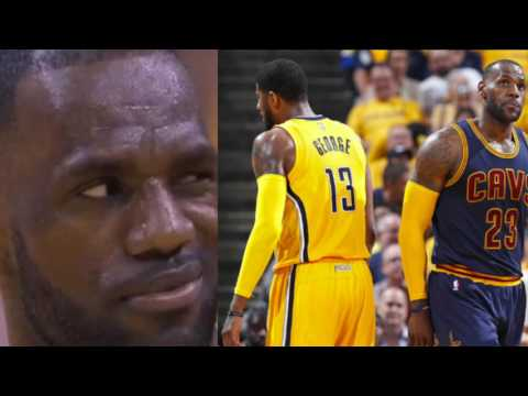 Lebron Brings Cavs Back From 26 Points As Paul George Might