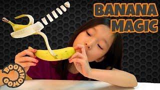 잘려진 바나나 만들기/Sliced Banana Trick : Lifehack How to (ENG Sub)/切れてるバナナ(日本語字幕)(여러분 안녕하세요 부후우입니다. 파나마 병 때문에 세상에서 바나나가 없어질 수도 있다는 뉴스를 보고 사라지기 전에 바나나에 대한 영상을..., 2016-06-03T09:00:01.000Z)