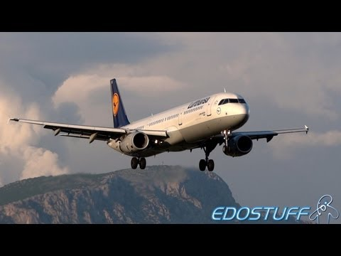 Awesome Evening Landing - Lufthansa - Airbus A321-231 D-AISQ - Split airport SPU/LDSP