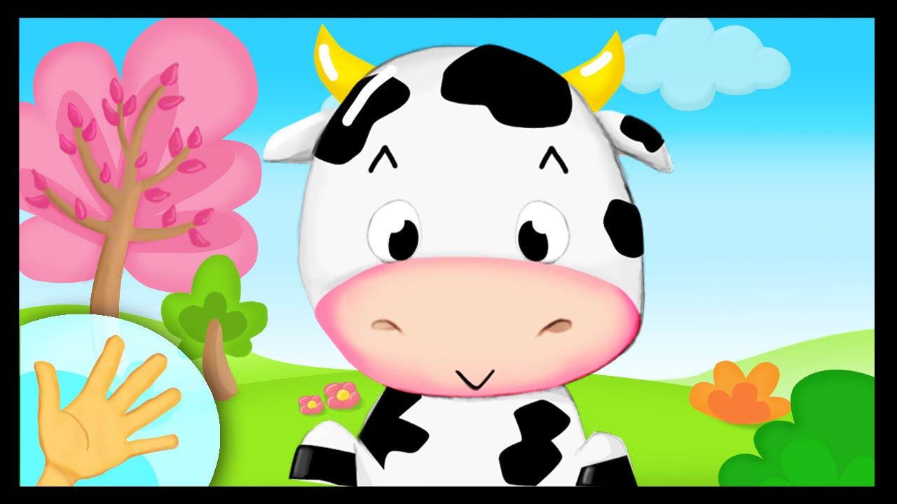 La Comptinette De La Vache Petites Comptines A Gestes Pour Bebes