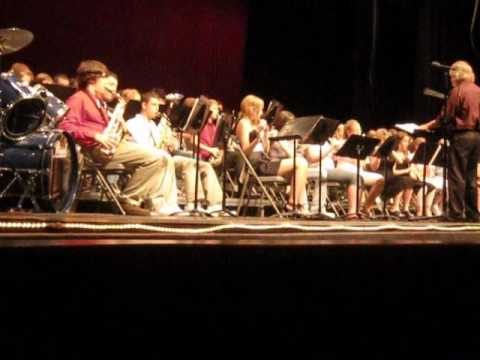 Part Of The Bellmont Middle School Concert In Decatur, IN