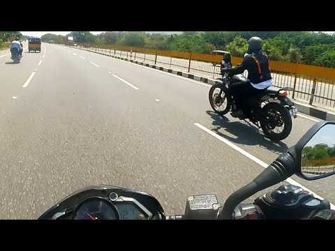 2018 Royal Enfield Himalayan VS Pulsar NS 200 (RACE)