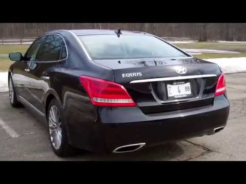 Steve Johnnie s 2014 Hyundai Equus Ultimate Road Test