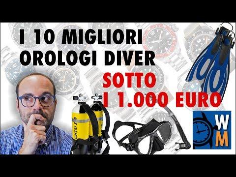 I 10 migliori orologi diver sotto i 1000 euro, secondo WatchManiac