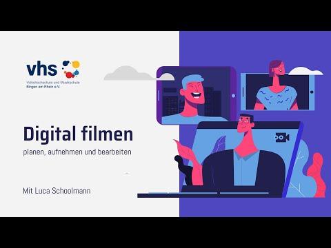 #insidevhs Digital Filmen (planen, Aufnehmen Und Bearbeiten)