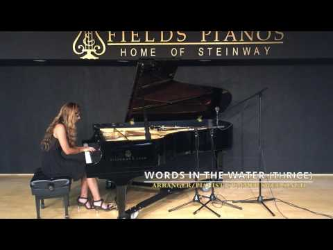 Words in the Water - Thrice (Major/Minor): Instrumental Piano Cover by Summer Swee-Singh