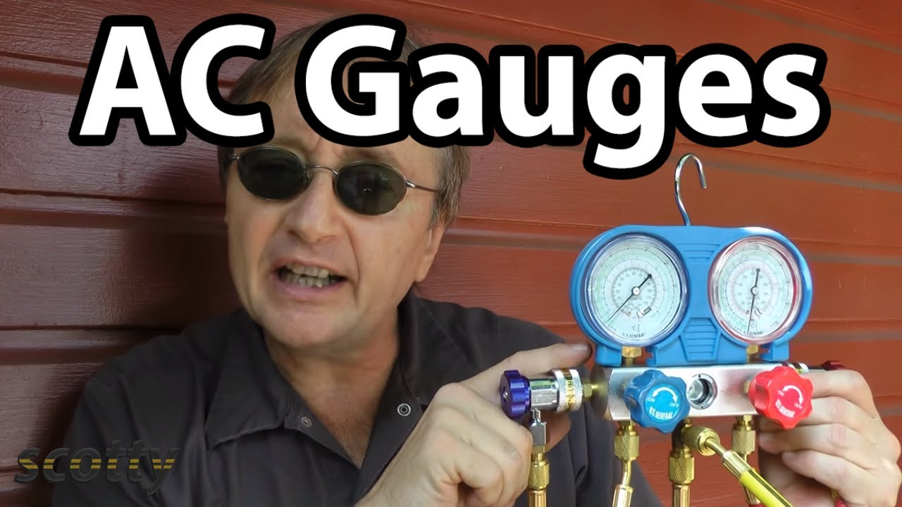 How To Use Ac Gauges In Your Car Problems Youtube 01 Camry 2 Cooling Fans Wiring Diagram