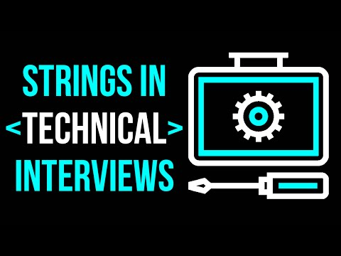 String Manipulation for Technical Interviews! Review Instance Methods & More!
