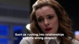 The Flash 3x15 - Snowbarry (Barry & Caitlin) Scenes/Reaction/Crack
