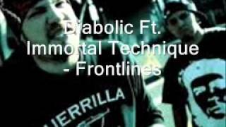 Diabolic Ft. Immortal Technique - Frontlines LYRICS