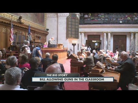Bill Allowing Guns In The Classroom 6pm 6-9-15