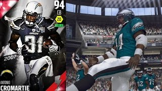 Madden 16 Ultimate Team - McNabb and Flashback Cromartie!