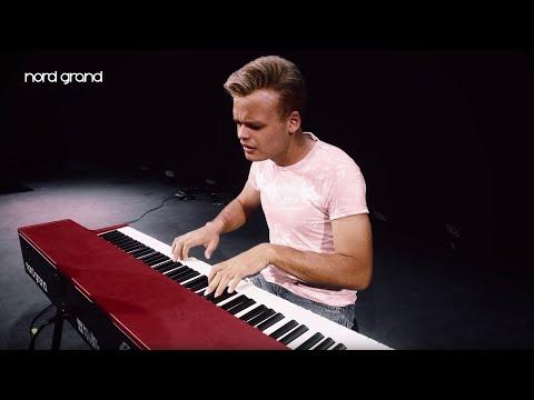 《民風樂府》瑞典手工製 Nord Grand 頂級舞台電鋼琴 Kawai全配重琴槌鍵盤 超寫實鋼琴體驗 歡迎相約試琴