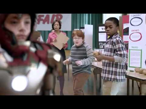 Iron Man Science Project - Extended Version (Verizion FiOS Commercial)