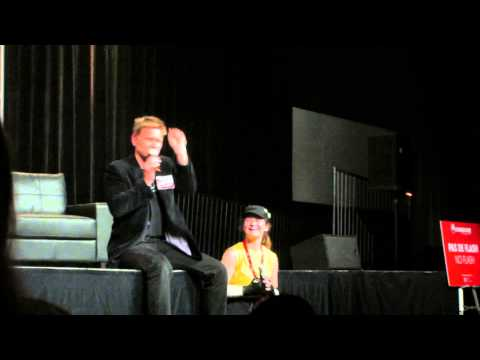 Mark Pellegrino imitating Misha and speaking french