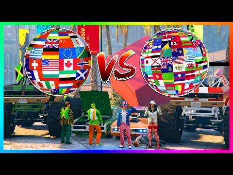GTA ONLINE USA VS CANADA VS THE WORLD - WHICH COUNTRY IS THE GREATEST OF ALL TIME IN GTA 5! (GTA V)