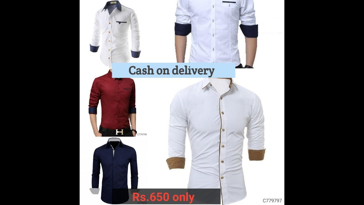 Shirts 650/pis/ online shopping/cash on delivery