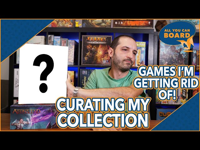 Curating My Collection (Ep. 2) | 6 Great Games Leaving