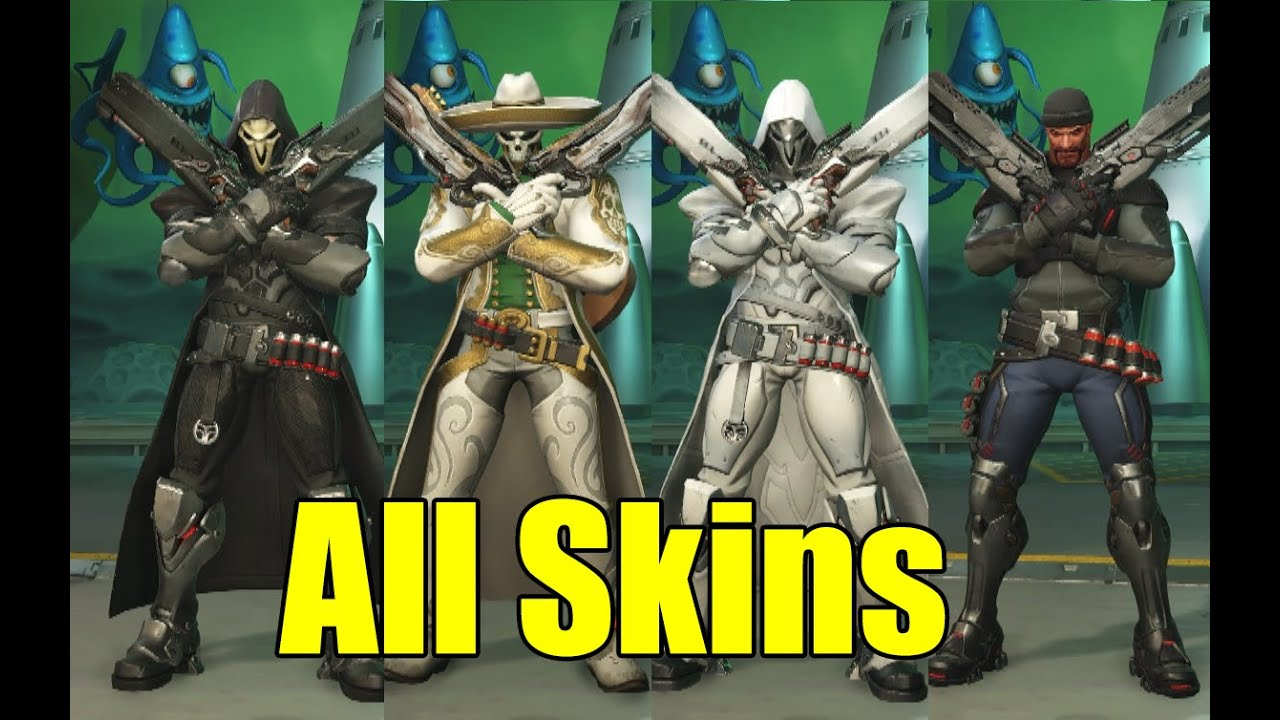 All Character\u0027s Costumes/Skins in Overwatch