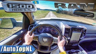 2019 DODGE RAM 1500 5.7 HEMI V8 POV Test Drive OFF ROAD by AutoTopNL
