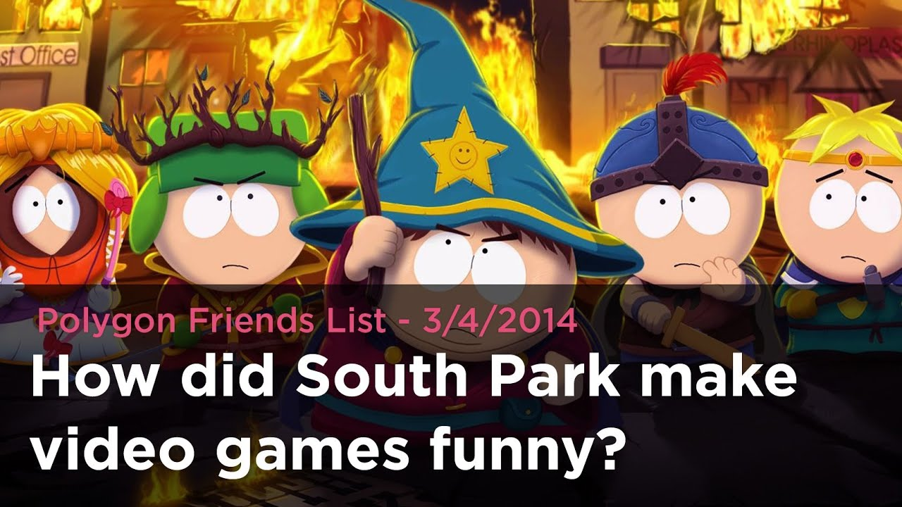How Did South Park Make Video Games Funny Polygon