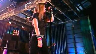 Avril Lavigne - Sk8er Boi - Live @ Late Night with Carson Daly [10.12.02]