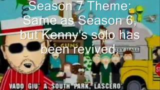 Every Single South Park Theme