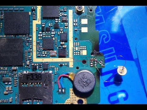 طريقة اصلاح عطل مايك samsung s5360 mic problem