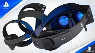 PlayStation VR 2 PSVR 2 Pancake lens Concept Design VR4Player