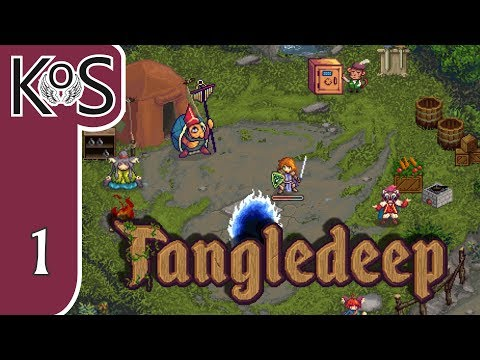 Tangledeep Ep 1: A PALADIN'S QUEST - RPG Roguelike - Let's Play, Gameplay