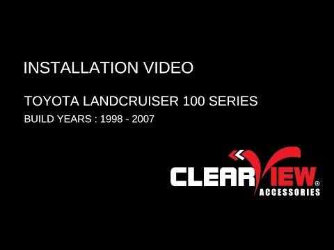 Clearview Towing Mirrors Installation Video: Toyota LandCruiser 100 Series