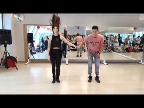EAZF2019 - Александр Бутенко и Татьяна Белоглазова - Zouk Demo (воскресенье)