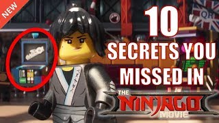 10 Crazy Secrets you missed in the LEGO Ninjago Movie!!!
