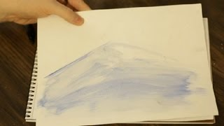 Painting With Epsom Salt for Winter Scenes : Art & Drawing Tips