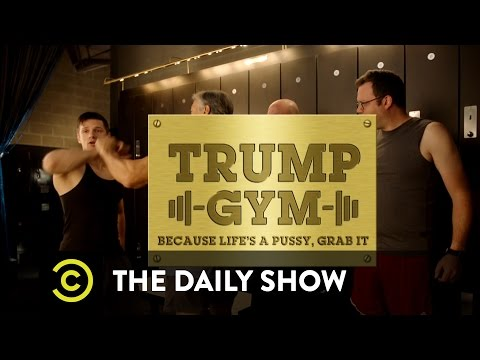 The Daily Show - Exclusive - Trump Gym