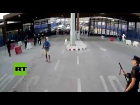 Policía española detiene a atacante con cuchillo en Melilla